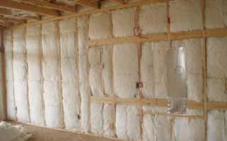 Методы утепления каркасного дома минеральной ватой