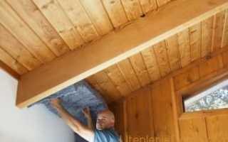 Утепление потолка в деревянном доме своими руками (керамзитом, опилками, пеноплстом)