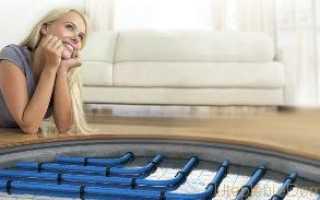 Схема как правильно сделать теплый водяной пол своими руками