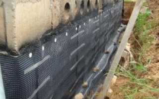 Как защитить фундамент дома от воздействия воды и влаги
