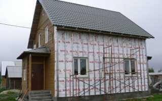 Утепляем фасад деревянного дома