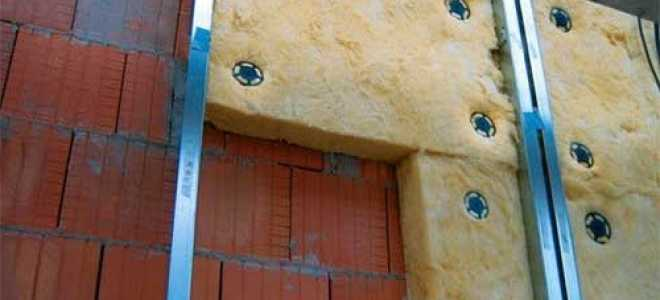 Технология утепления фасада минватой – плюсы материала и тонкости монтажа
