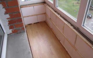 Выбор утеплителя для балкона