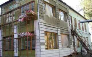 Система утепления фасадов «мокрым » способом, технология применения