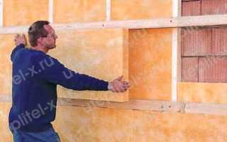 Как утеплить фасад дома минватой своими руками