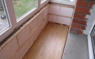 Как утеплить балкон изнутри правильно своими руками
