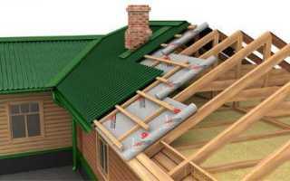 Гидроизоляция крыши дома под металлочерепицу своими руками