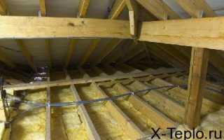 Производим утепление потолков в деревянном доме — сохраним тепло и повысим звукоизоляцию