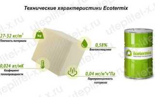 Технические характеристики и компоненты экотермикс