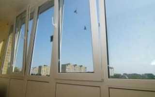 Утепление и остекление балконов технология монтажа