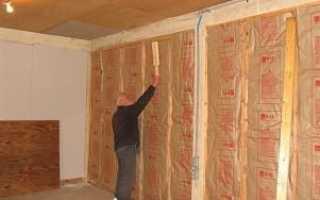 Утепление дома изнутри различными материалами
