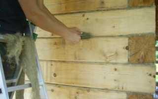 Утепление стен бани изнутри не зависимо от ее конструкции