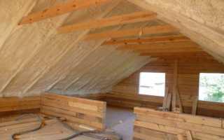 Как можно утеплить крышу дома своими руками