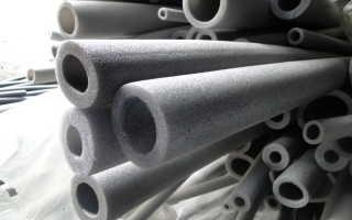 Создание теплоизоляции для труб из вспененного полиэтилена