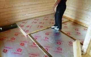 Как утеплить бетонный пол и какой материал лучше?