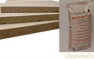 Вермикулит для утепления потолка, пола и стен дома: отзывы