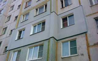 Как производятся работы по утеплению фасадов многоквартирных домов