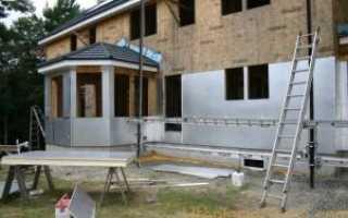 Утепление стен деревянного дома снаружи минватой, пенопластом