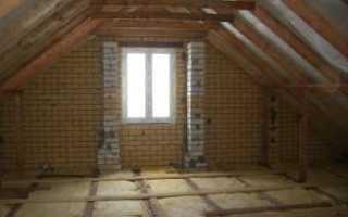 Утепление крыши изнутри качественным материалом