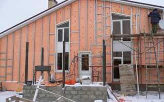 План работ по утеплению дома снаружи минватой под сайдинг