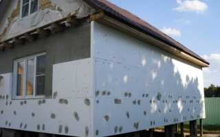 Технология утепления дома из газобетона снаружи