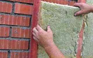 Утепление наружных стен минеральной ватой, технология и советы