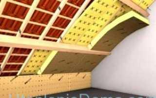 Утепление крыши деревянного дома своими руками изнутри пенопластом (этапы и материалы)