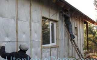 Утепление стен пенопластом своими руками изнутри и снаружи (технология утепления)