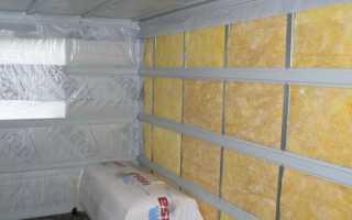 Обустройство утеплителя для стен бани