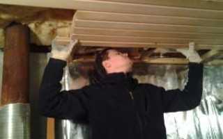 Как утеплить потолок в бане правильно своими руками