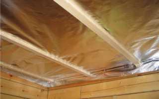 Чем утепляют потолок бани, будь то настильный, подшивной или панельный