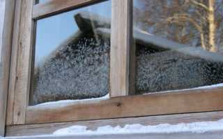Как правильно провести утепление деревянных окон