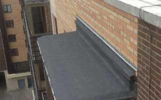 Гидроизоляция крыши балкона в деревянном доме своими руками