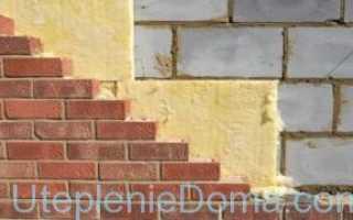 Утепление стен из газобетона снаружи: различные технологии