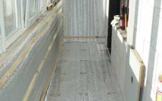 Как утеплять балконы изнутри наиболее эффективно