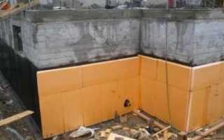 Способы утепления фундамента дома пеноплексом (технология утепления)