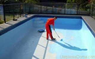 Материалы для гидроизоляции бассейна под плитку изнутри