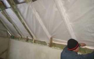 Как правильно выбрать и уложить пароизоляцию на стен внутри
