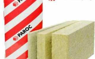 Базальтовый утеплитель Парок технические характеристики