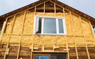 Технология утепления бревенчатого дома снаружи