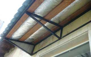 Как утепляют крышу лоджии или балкона