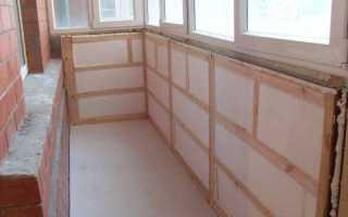 Способы утепления лоджии и балкона