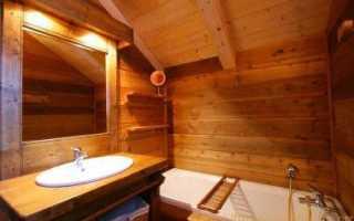 Гидроизоляция ванной комнаты в деревянном доме своими руками