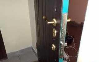 Как утеплить железную дверь своими руками