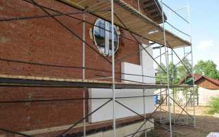Утепление кирпичного дома снаружи современными методиками