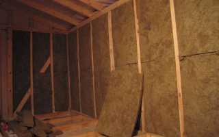 какой толщины должен быть утеплитель для стен