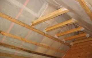 Как утеплить потолок в своей квартире, парилке, а также подвале