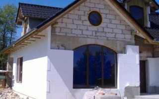 Рассмотрим технологию утепления фасадов пенопластом
