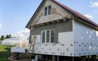 Утепление стен дома изнутри и снаружи