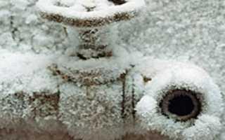 Как можно утеплить водопроводную трубу правильно